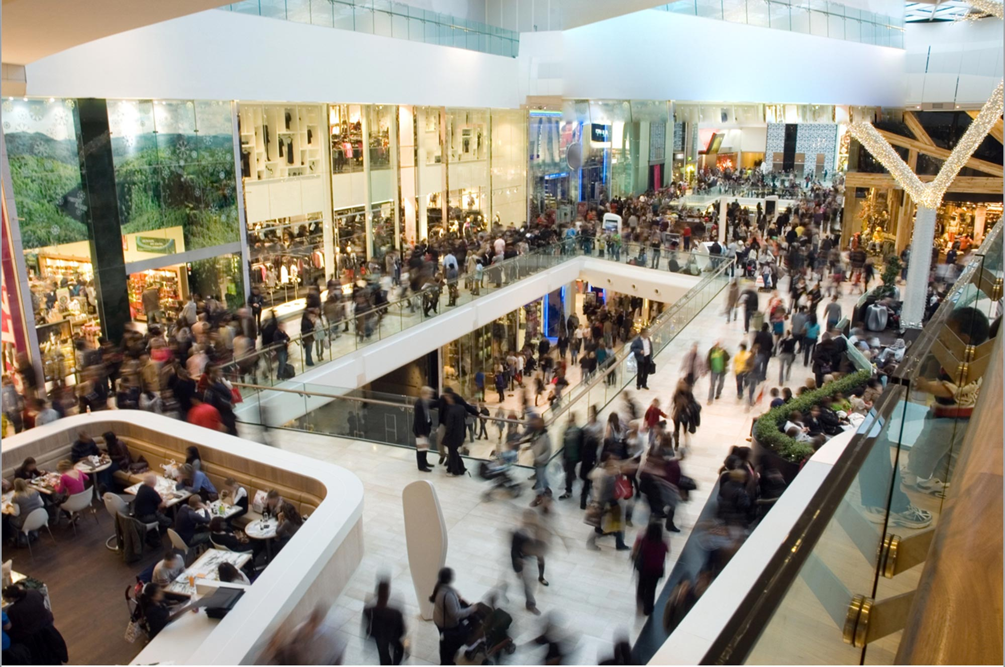 people counters for malls