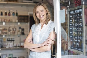 Shop owner deciding on people counter