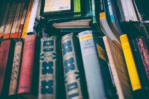 Library books for library program planning guide