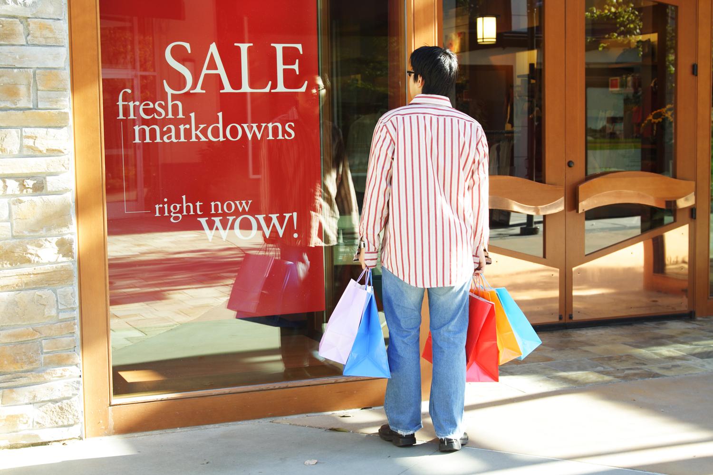 Sale sing in store window - 2018 seasonal retail planning guide