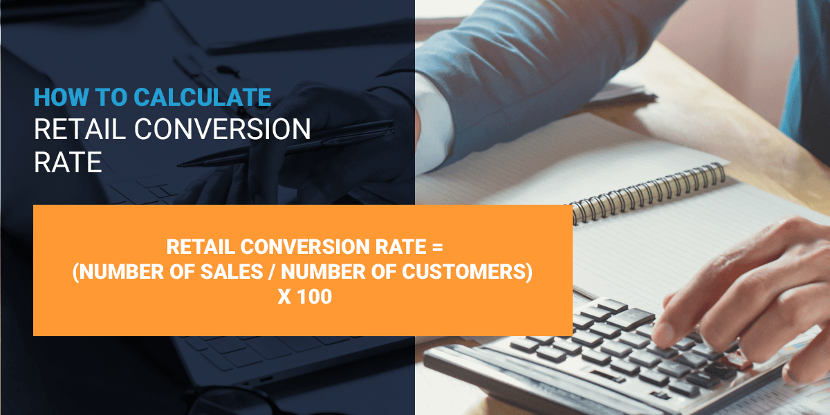 retail conversion rate formula