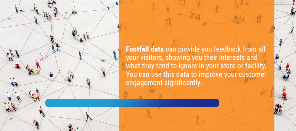 Footfall data provides valuable feedback