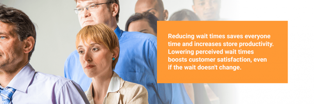 Benefits of reducing wait times