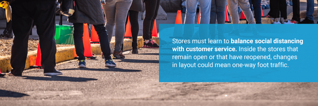 Benefits of customer queuing systems